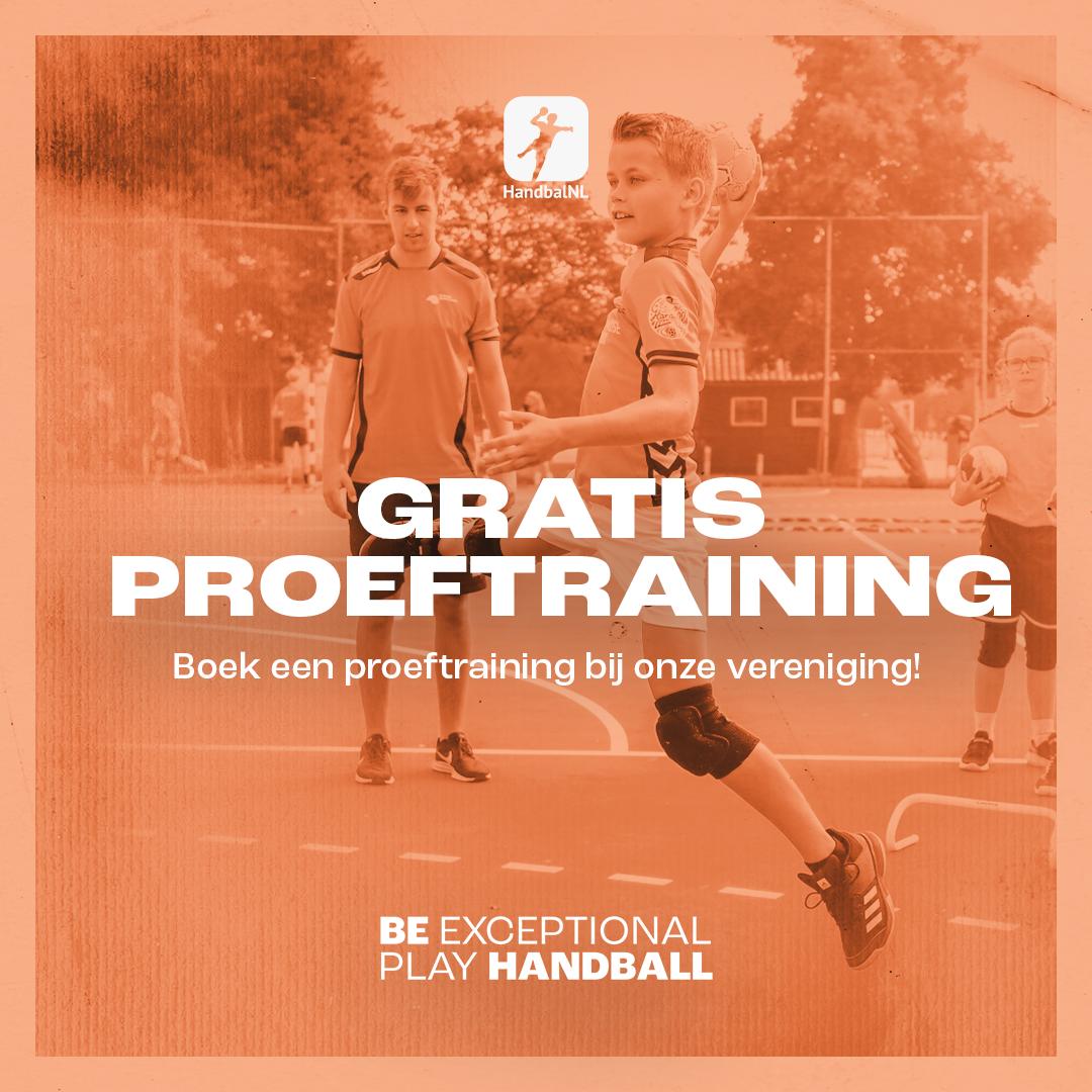 Boek een proeftraining bij Team Handbal Waalre tijgers